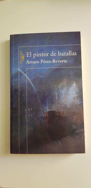 """Libro """"El pintor de batallas"""" de A. P. Reverte"""