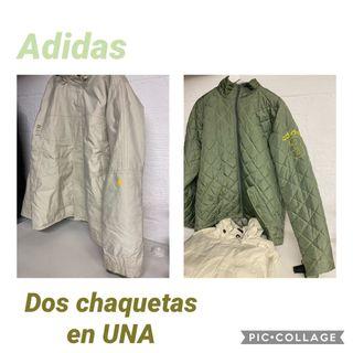 CHAQUETA HOMBRE ADIDAS NUEVA T.M
