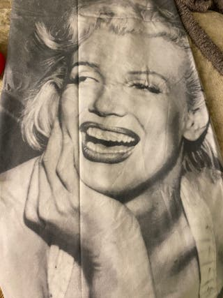 Marylin Monroe single duvet with pillowcase