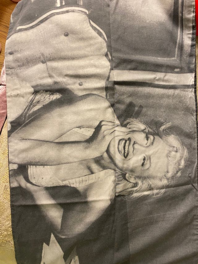 Marylin Monroe single duvet with pillowcase
