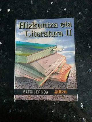 HIZKUNTZA ETA LITERATURA BACHILLERATO 2