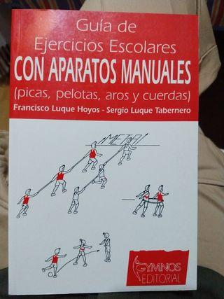Libro Ejercicios Escolares con Aparatos Manuales