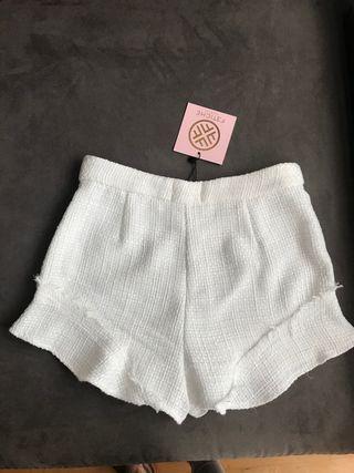 Pantalón corto tweed Fetiche Suances