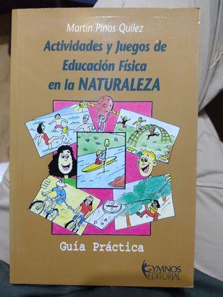 Libro Actividades y Juegos en la Naturaleza