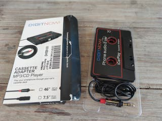 cassette adaptador coche