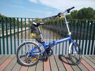 Bicicleta electrica nueva Urban Life plegable