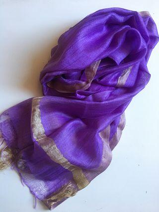 Pañuelo / fular algodón y seda Nuevo!