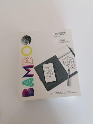 Bamboo Spark libreta digital