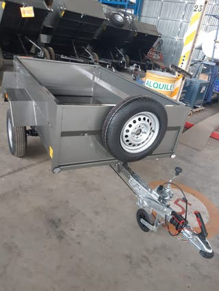 remolque carro para coche con freno de inercia