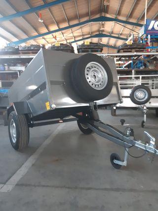 remolque carro para coche con ruedas 14 pulgadas