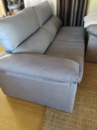 Sofá chaise longue.!!