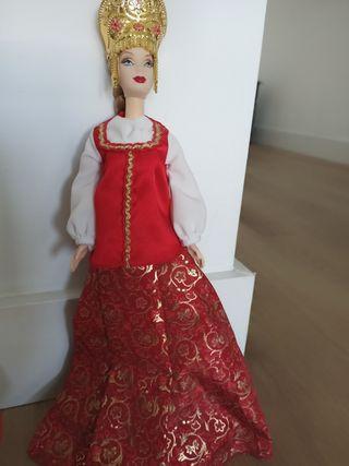 Muñeca Barbie Países del mundo Rusia