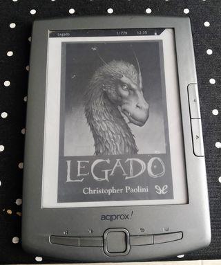 libro electronico e-book aqprox!