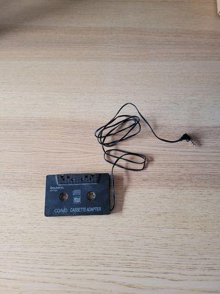 Adaptador cassette radio