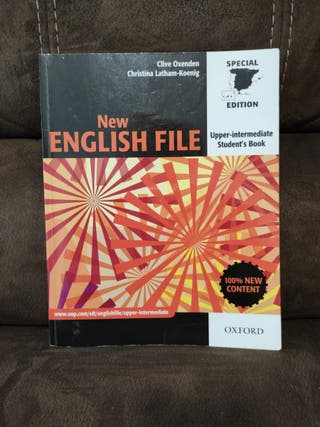 Libro inglés New english file Upper intermediate