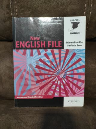 Libro inglés New english file Intermediate plus