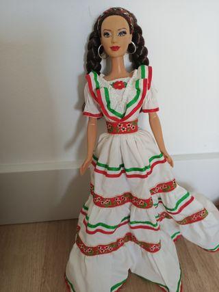 Muñeca Barbie Países del mundo México