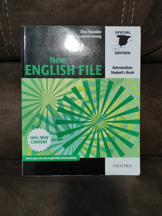 Libro inglés New english file Intermediate Oxford