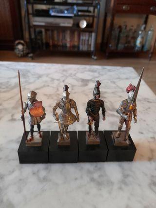 Soldados de colección (4uds)