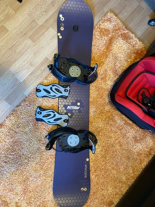 Tabla snowboard quechua krnby 165cm
