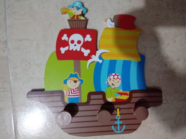 Percha piratas