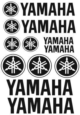 Pegatinas Yamaha!
