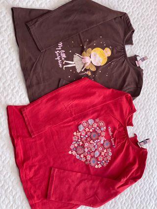 Camisetas niña 2/3 años