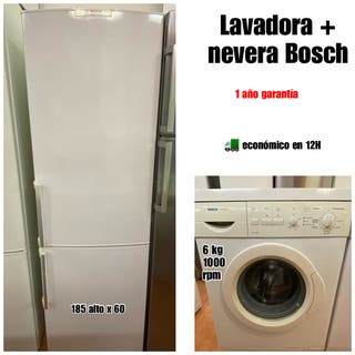 Lavadora + combi Bosch buen estado con garantía