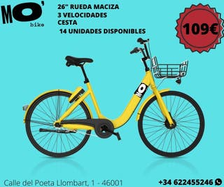 BLACK FRIDAY SEGUNDA MANO OFO YELLOW BIKE