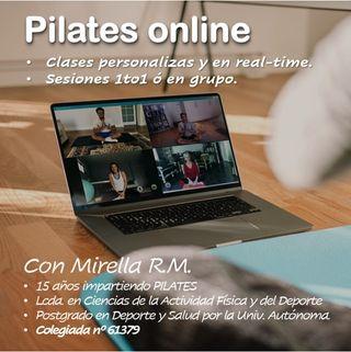 CLASE de PILATES ONLINE en REAL-TIME