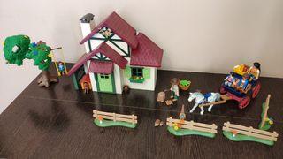 Playmobil casa del guardabosques