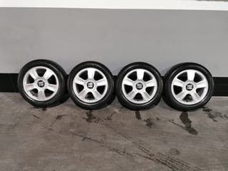 Llantas SEAT Ibiza con neumáticos