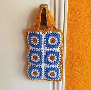 Bolso multiusos de Crochet