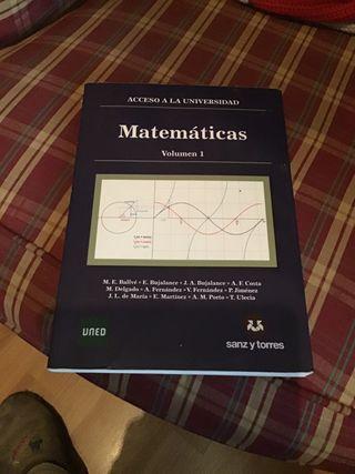 """Matemáticas """"acceso a la universidad"""""""