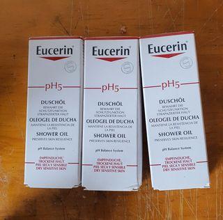 Aceite de ducha, piel seca y sensible.
