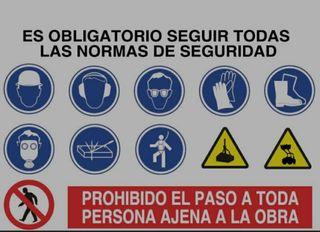 carteles de seguridad homologados