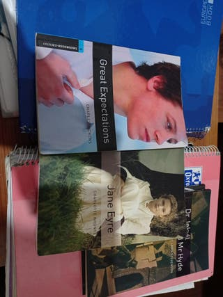 Libros de lectura Inglés Oxford 2ndo Bachillerato