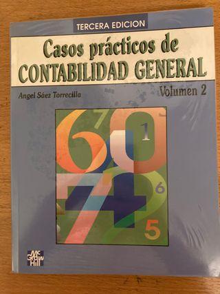 Libro de economía: casos prácticos de contabilidad