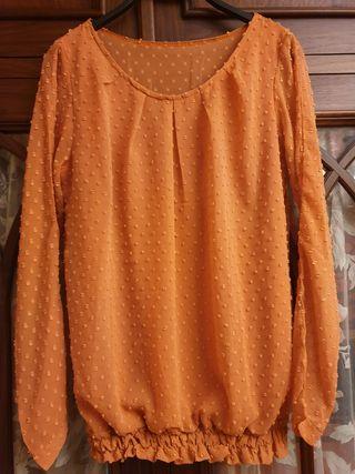 Blusa plumeti, talla única