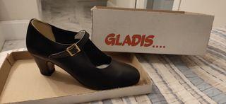 Zapatos de baile semi profesional de Gladis