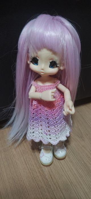 muñeca articulada kiki pop