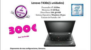 portatil lenovo t430
