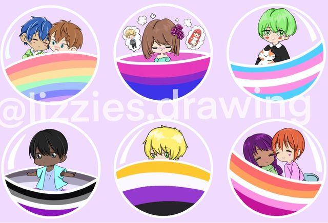 LGBT+ Stickers