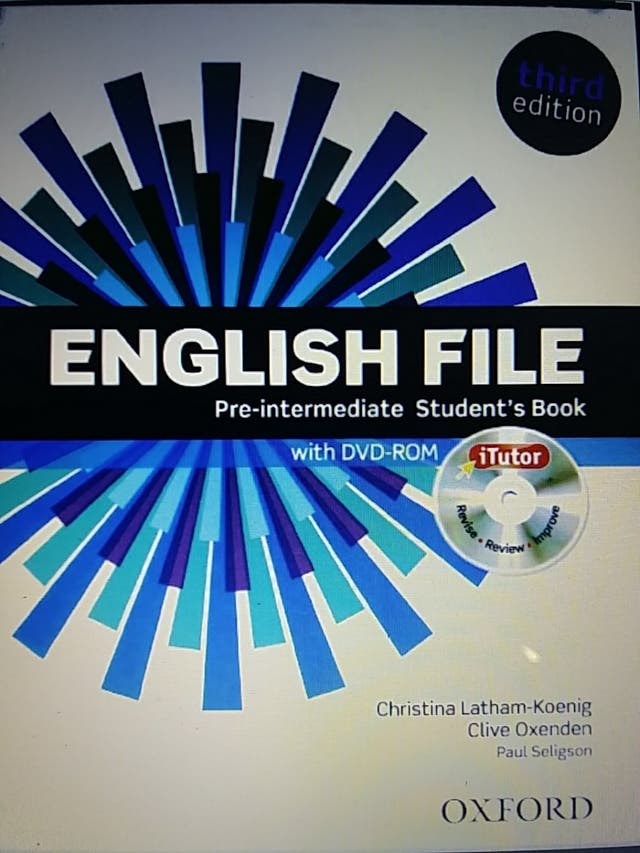 Student's Book Pre-intermediate Oxford