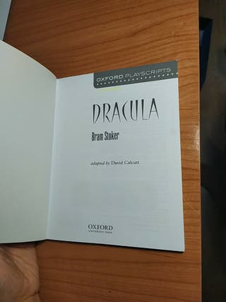 Dracula, libro en inglés