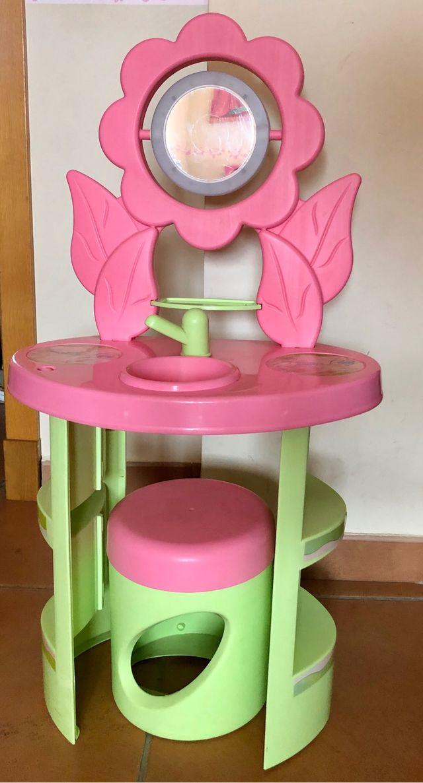 Tocador Infantil rosa