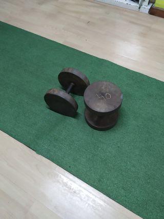 mancuernas de 40 kg