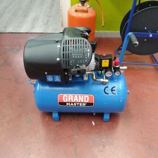 Compresor de Aire 50 Litros, 220V Dos Cilindros