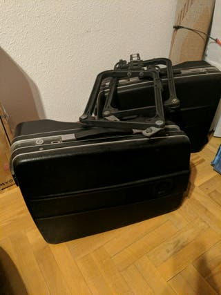 Suitcases and holders for BMW R80