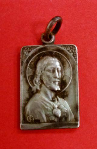 Medalla Guerra Civil Soy Católico. Plata. Muy Rara